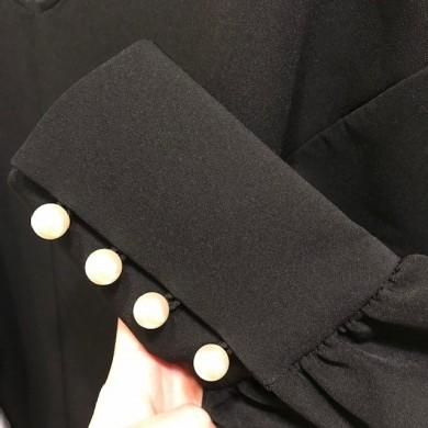 物撮り ドレスの袖パール