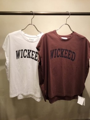 MICA WICKEED Tee 物撮り